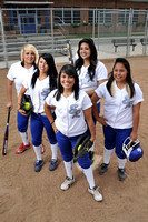 2011 El Rancho Softball Photoshoot